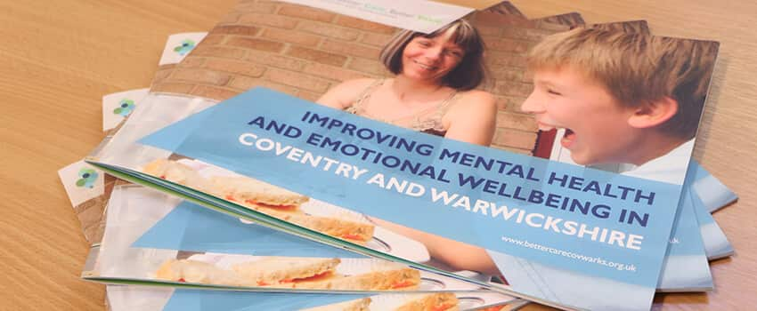 Improving Mental health and emotional wellbeing in Coventry and Warwickshire