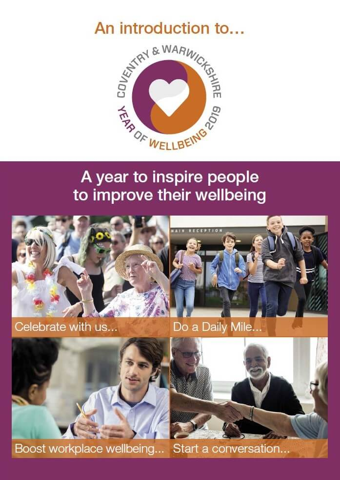 Year of wellbeing booklet front cover