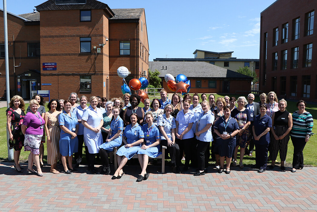 Nursing associates celebrate at stratford hospital