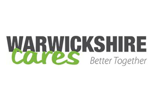 Warwickshire cares better together logo